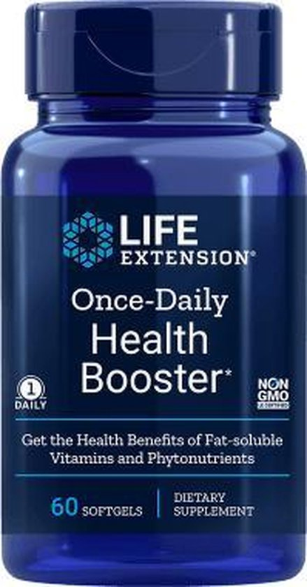Life Extension Once-daily Health Booster 60 Softgels