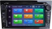 GRATIS CAMERA!! Opel (2002-2014) Android 10.0 navigatie 2GB+16GB DVD Speler Opel Corsa Astra Vectra Antara Vivaro Combo Meriva Zafira Signum Tigra  ZWART