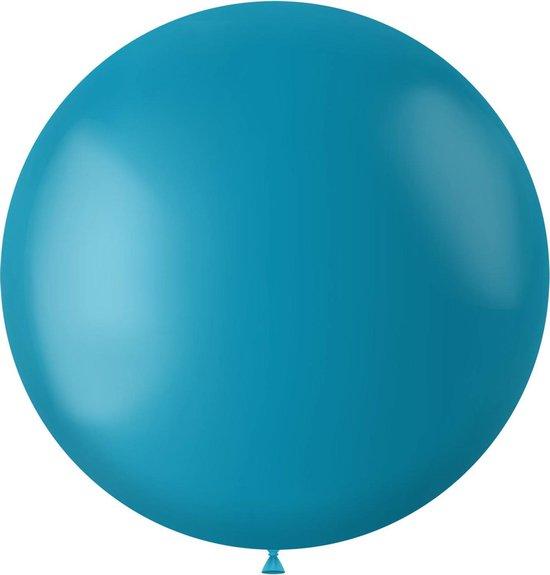 Turquoise Ballon Calm Turquoise 80cm