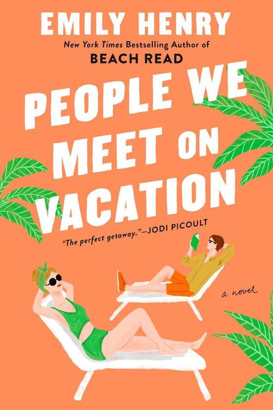 Boek cover People We Meet on Vacation van Emily Henry (Paperback)
