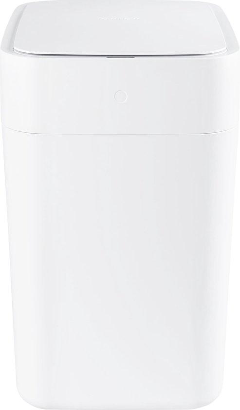Prullenbak - Automatische sensor - Kunststof - Wit - 15,5L