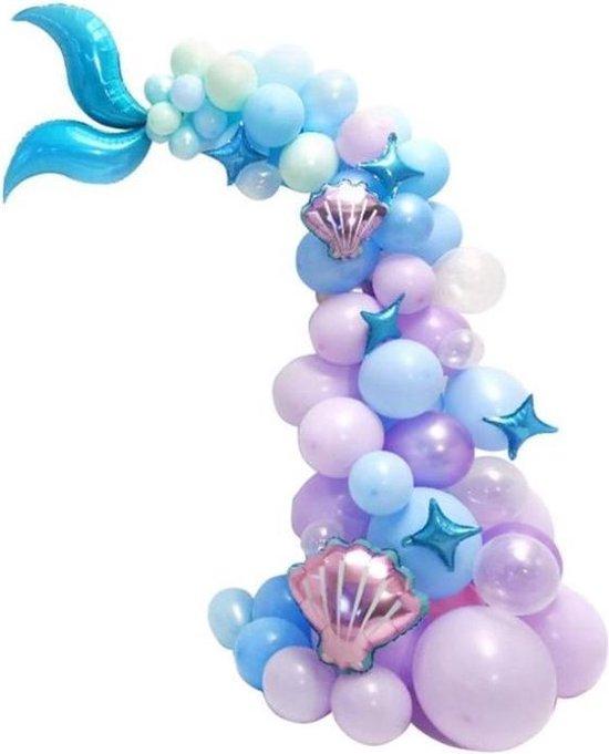 Zeemeermin ballon - Ballonnenboog - Verjaardag ballonnen