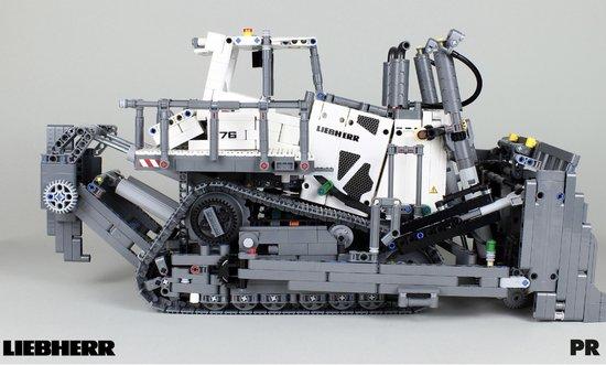 Liebherr PR 776 Lego® Bulldozer Technisch Bouwpakket - Exclusief Limited Model - Toy Brick Lighting - Dozer - 3000+ Bouwstenen
