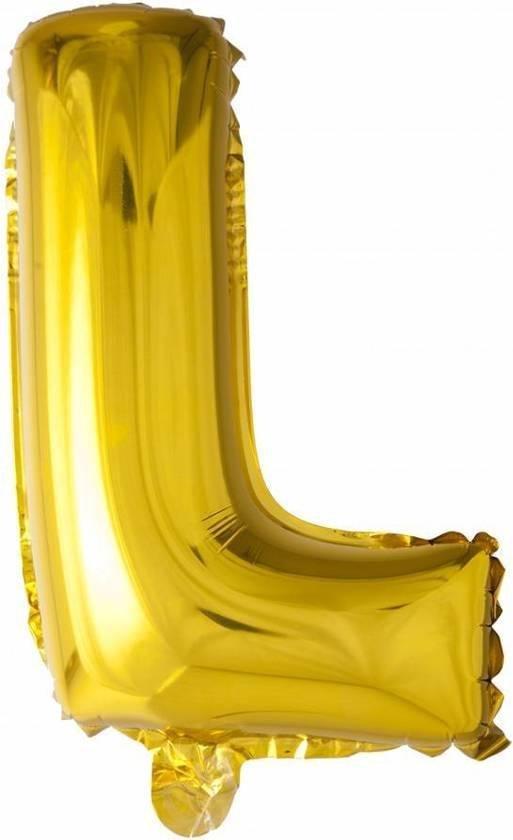 ballon letter L 32 inch, 80 cm