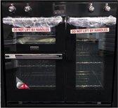 Stoves gourmet 90 EI - Inductie fornuis