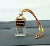 Auto Parfum   Geurverfrisser zondervulling - Luchtverfrisser   Auto accessoires   CarPerfume   Car Perfume   Luchtverfrisser   New Car   Auto verfrisser   GOUD  Leeg