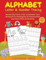 Alphabet Letter & Number Tracing For Kids Ages 3+