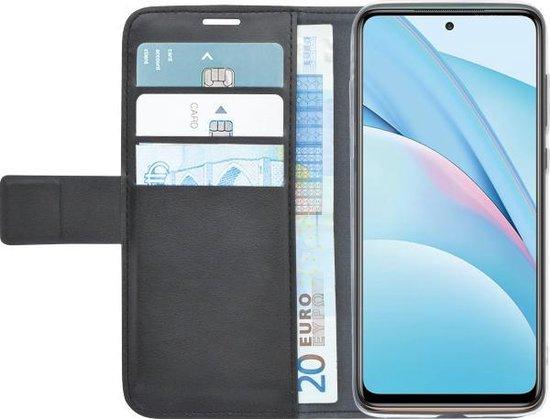 Azuri Xiaomi Mi 10T Lite hoesje - Walletcase - Zwart