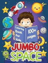 jumbo space coloring book for kids