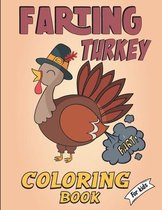 Farting Turkey coloring book for kids