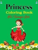 Princess Coloring Book For Teenager Girls