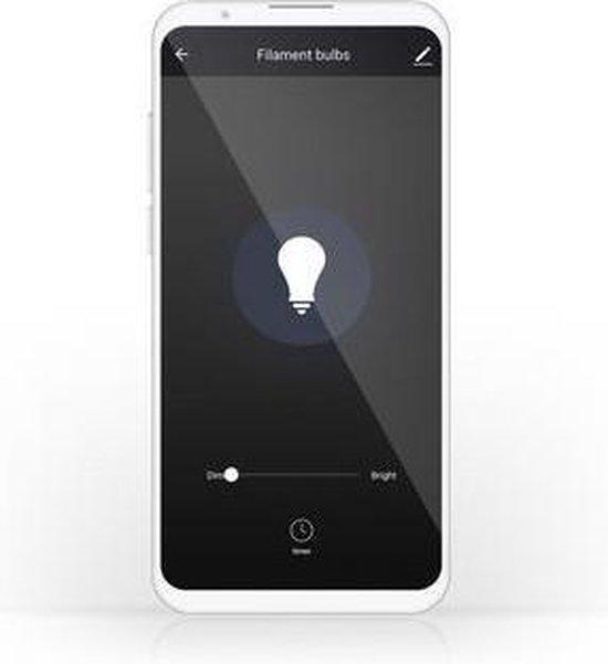 Nedis Wi-Fi Smart LED Filament Lamp | E27 | 125 mm | 5 W | 500 lm
