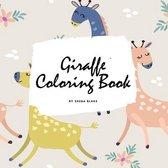 Giraffe Coloring Book for Children (8.5x8.5 Coloring Book / Activity Book)