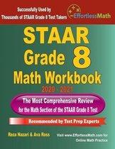 STAAR Grade 8 Math Workbook 2020 - 2021