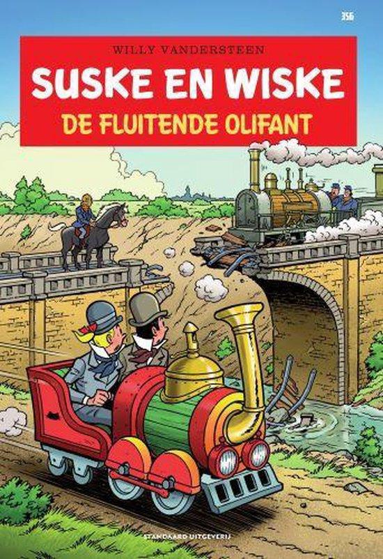 Boek cover Suske en Wiske 356 -   De fluitende olifant van Willy Vandersteen (Paperback)