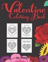 Valentine Coloring Book for Women