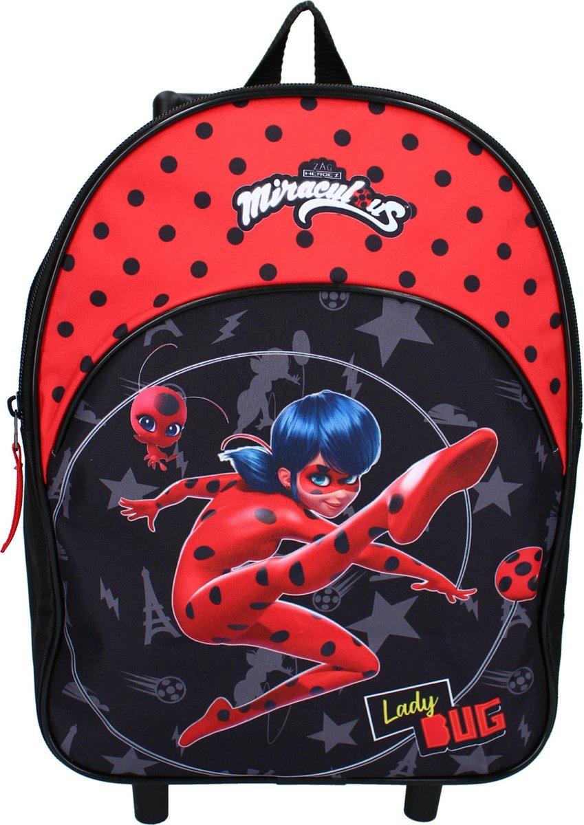 Miraculous Ladybug Rugzaktrolley Trolley Rugzak Miraculous Super Heroez