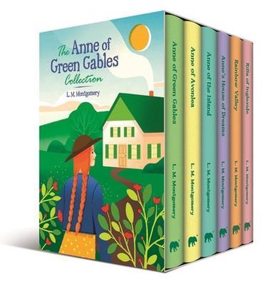 Boek cover The Anne of Green Gables Collection van L M Montgomery (Hardcover)