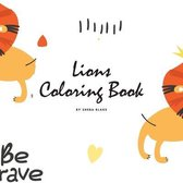 Lions Coloring Book for Children (8.5x8.5 Coloring Book / Activity Book)