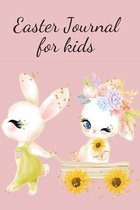 Easter lined journal for kids