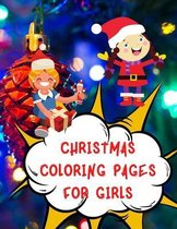 Christmas Coloring pages for Girls
