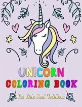 Unicorn Coloring Book For Kids And Toddlers