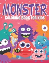 Monster Coloring Book for kids
