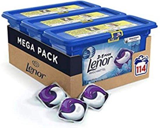 Lenor - Pods - all in one - April Fresh - 3 x 38 (114 stuks) - Voordeelverpakking
