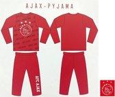 Ajax pyjama maat 164-170 - kinderpyjama rood