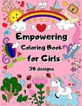 Empowering Coloring Book for Girls