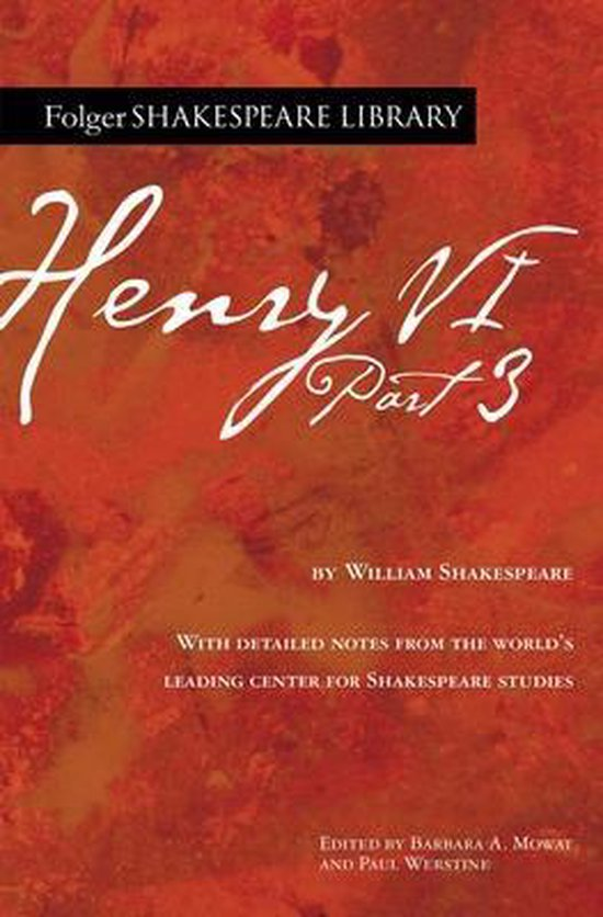 Boek cover Henry VI Part 3 van William Shakespeare (Paperback)
