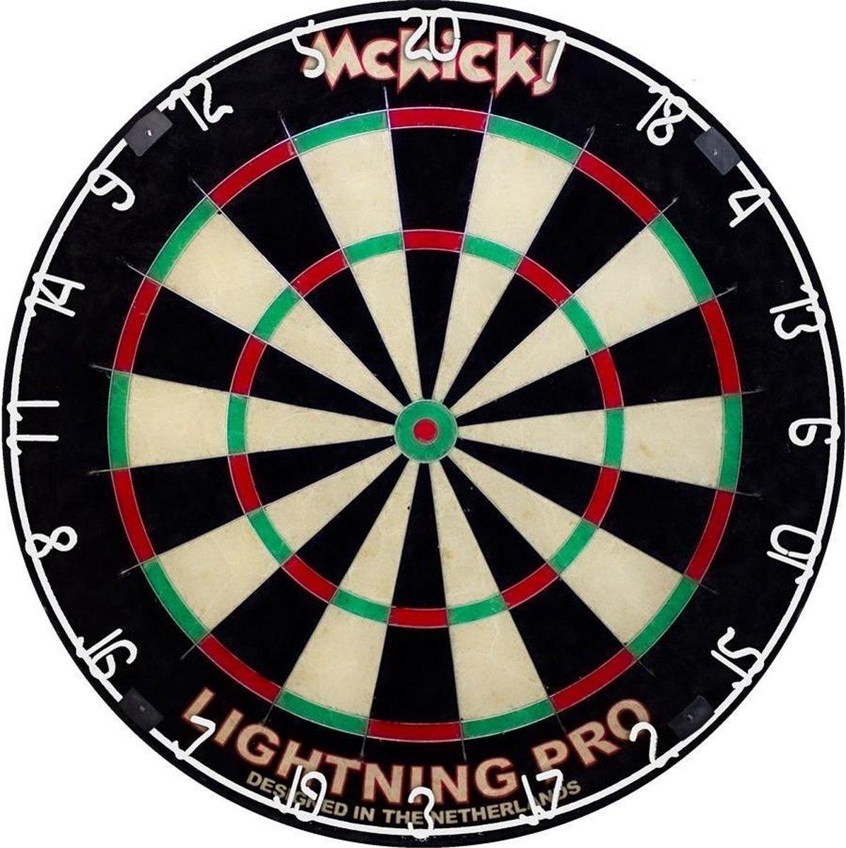 Mckicks Lightning Pro Dartbord