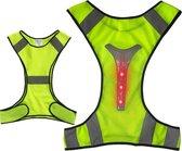 LED sport vest | Hardlopen | Reflecterend vest | V