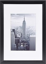 Fotolijst - Henzo - Manhattan - Fotomaat 10x15 cm - Zwart