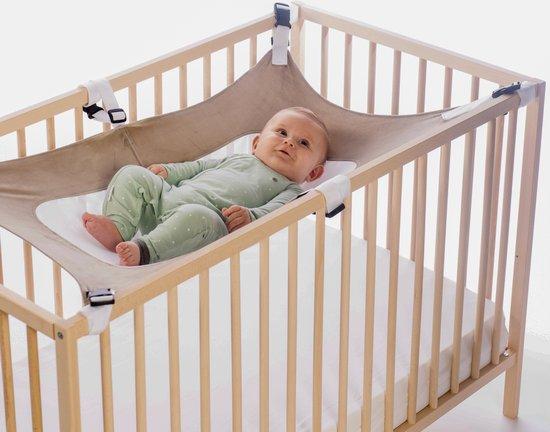 Product: MAMEA-hangmat voor babybedje - Draagbaar uniseks hangbed met 6 verstelbare veiligheid - kraamcadeaus - Rustgevende zijden stof met dubbele mesh-ondersteuning - Eenvoudig op te zetten wieg - baby geschenksets, van het merk MAMEA