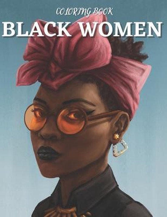 Black women Coloring Book