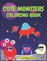 Cute Monsters Coloring Book