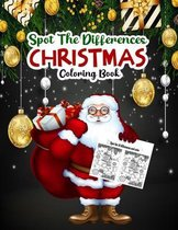 Spot The Differences CHRISTMAS Coloring Book