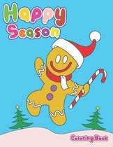 Happy Season Coloring Book