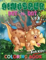 Dinosaur Dot To Dot Coloring Book For Kids