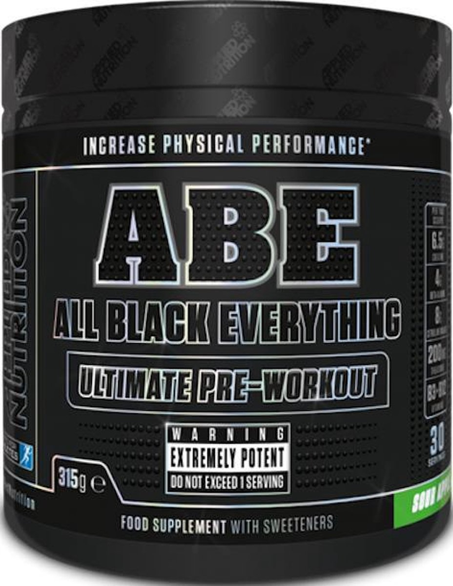 Applied Nutrition - ABE Ultimate Pre-Workout - 315 g - Sour Apple Smaak - 30 servings