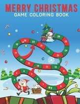 Merry Christmas Game Coloring Book