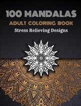 100 Mandalas Adults Coloring Book