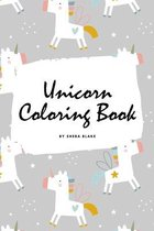 Cute Unicorn Coloring Book for Children (6x9 Coloring Book / Activity Book)