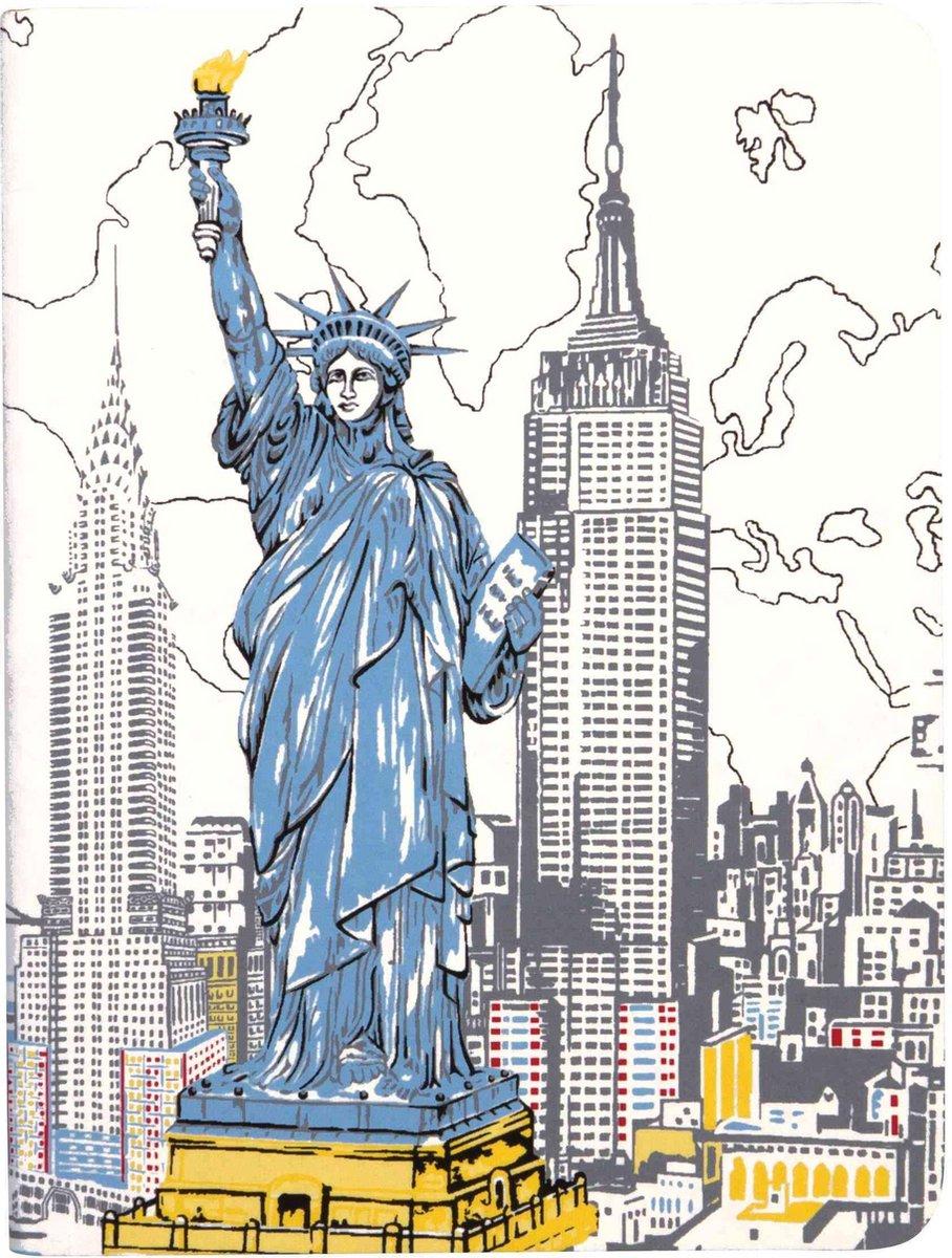 New York Liberty Handmade Journal