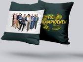 FC de Kampioenen super groot sierkussen 70 cm x 70 cm