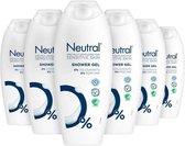 Neutral Showergel voor de gevoelige huid (set van 6 stuks)