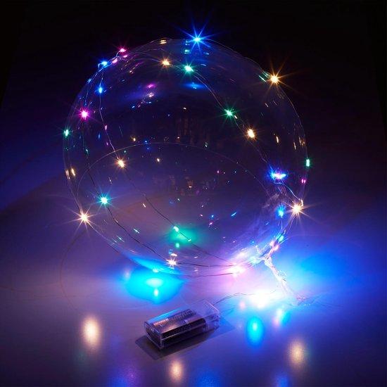 5 stuks Ballonnen - LED - Decoratie - Sfeer - Ballon - Led ballon - Bobo - Baloons - 5 stuks - Led ballonnen - 30 Ledjes - Bruiloft - Cave & Garden