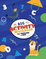 Big Activity Workbook For Toddlers & Kids