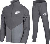 Nike Trainingspak - Maat 152  - Unisex - grijs/licht grijs 152/158